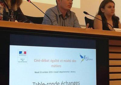 Ciné-débat «Égalité professionnelle et mixité des métiers»